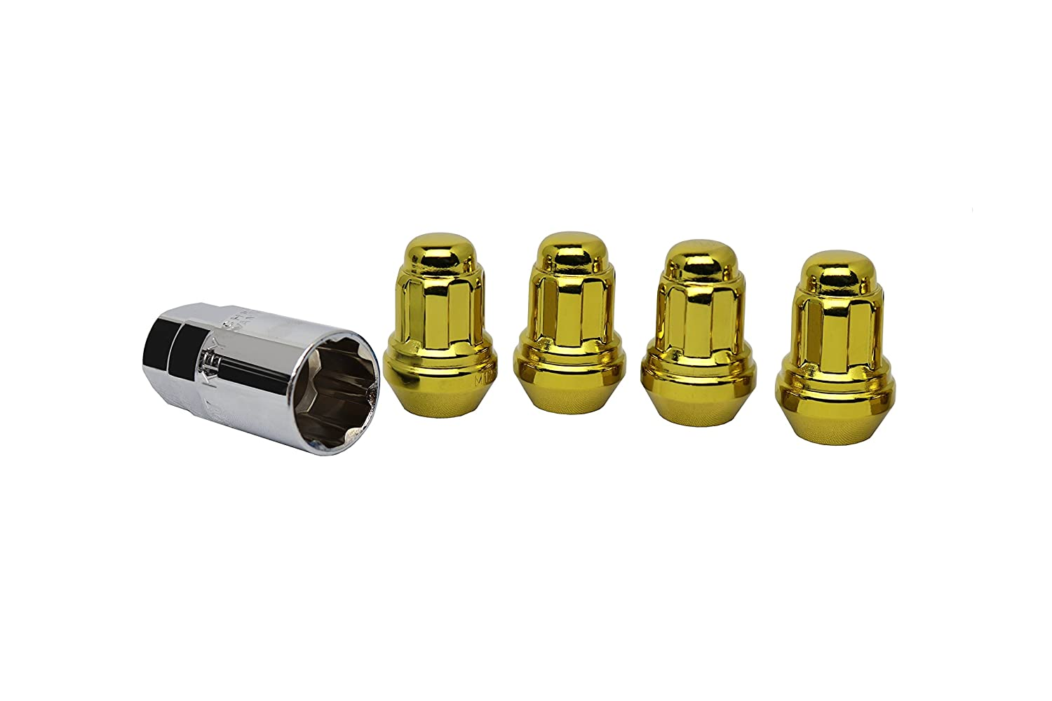 White Knight 40700SGDT GoldWheel Lock, 4 Pack