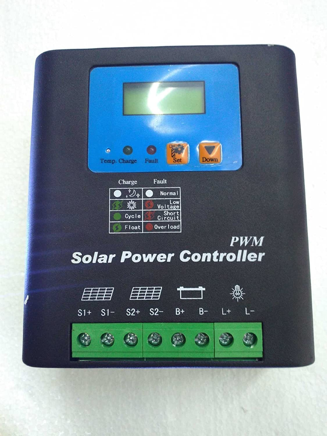 40a 12v 24v Automatic Solar Regulator Pwm Charge Charger Schematic Manufacturers Controller With Lcd Display Garden Outdoor