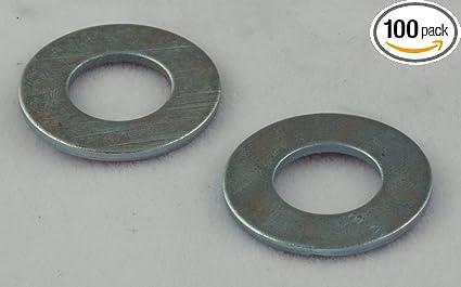 Amazon.com: 3/4 SAE Flat Washers Zinc 100 Pack: Home Improvement