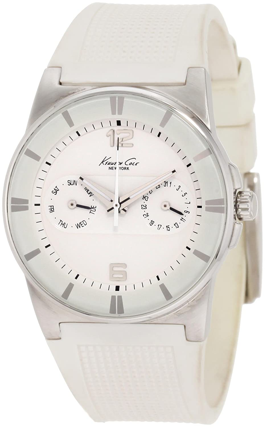 Amazon.com: Kenneth Cole New York Womens KC2461 Sport Chronograph Polyurethane Watch: Kenneth Cole: Watches