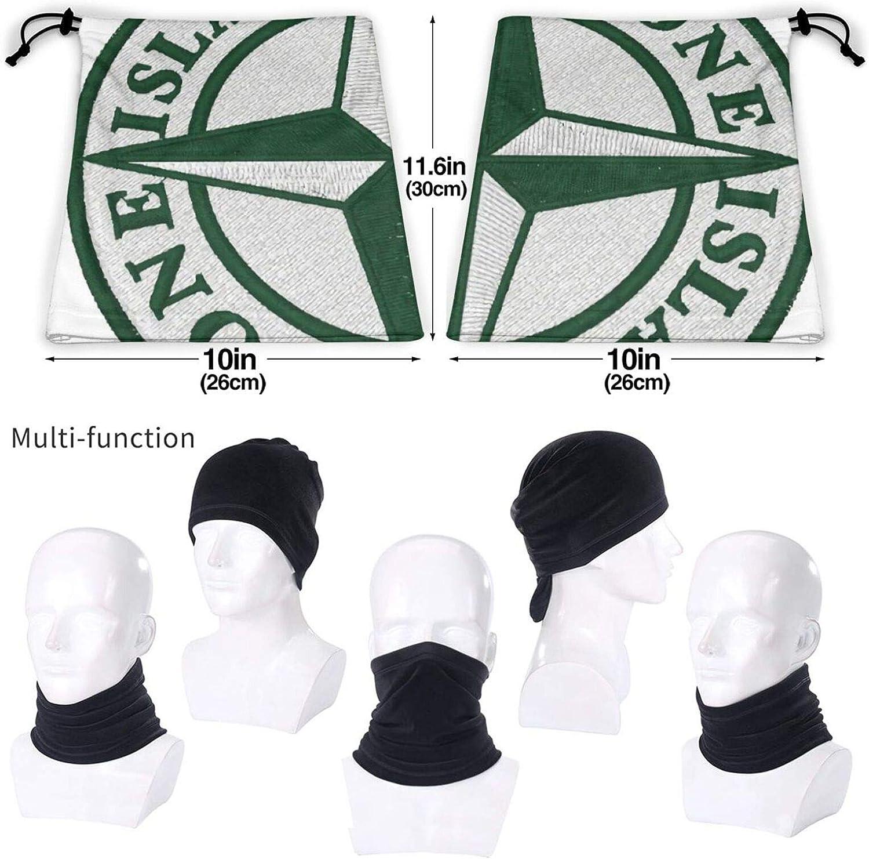 sciarpa scaldacollo per sport allaria aperta passamontagna bandane Stone Island Unisex multifunzionale antipolvere in microfibra collo ghetta