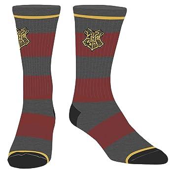calcetines de Harry Potter medias de la cresta de Hogwarts 41-45 Rojo Gris: Amazon.es: Juguetes y juegos