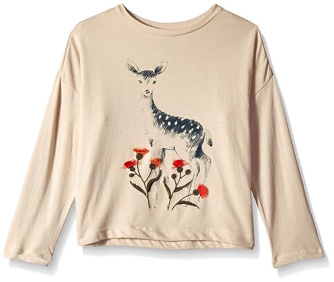 ce525119 Amazon.com: Gymboree Girls' Big Long Sleeve Thermal Graphic Tee: Clothing