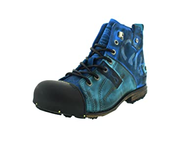 buy popular d3897 8c59e Yellow Cab Herren Stiefel Y15012 Light Blue blau 395666