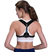Tiharny Back Posture Corrector Clavicle Support Brace Women & Men Improve Posture, Prevent Slouching Upper Back Pain Relief
