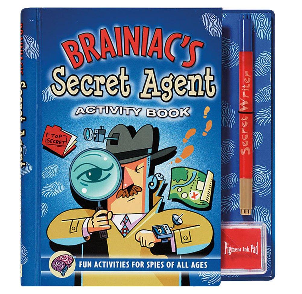 Brainiac's Secret Agent Detective Activity Book Kit