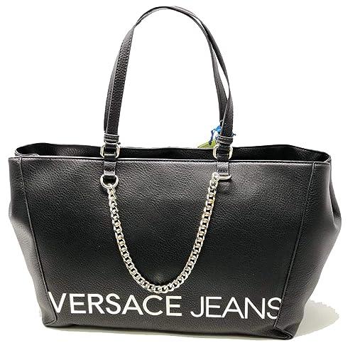 Versace Jeans BORSE E1VSBBB370709899 LINEA B DIS. 3 NERO 899  Amazon ... ceb0e9251ec
