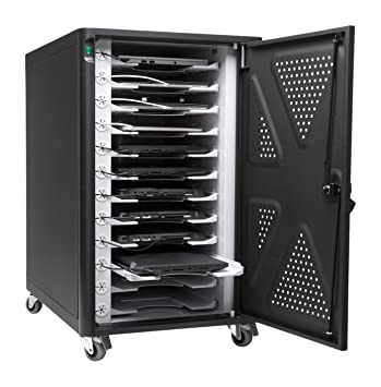 Amazon.com: Kensington AC12 Security Charging Cabinet for Tablets ...