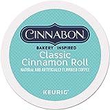 Cinnabon Classic Cinnamon Roll, Single-Serve Keurig K-Cup Pods, Flavored Coffee, 24 Count