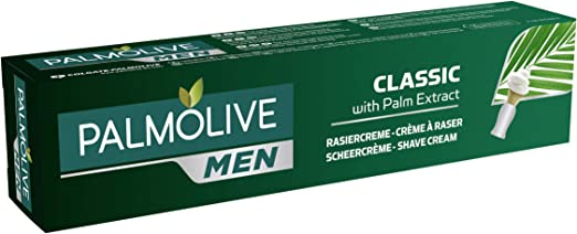 Palmolive Men Classic With Palm Extract Shaving Cream 100 Ml Drogerie Körperpflege