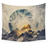 """Society6 One Mountain At A Time Wall Tapestry Small: 51"""" x 60"""""""