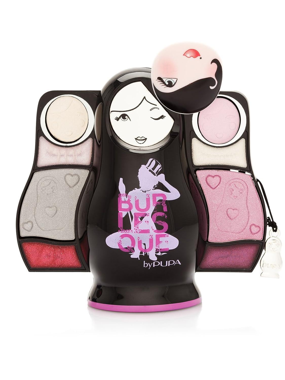 Pupa Set 2 Estuches Maquillaje Burlesque Puposka Burdeos: Amazon.es: Belleza