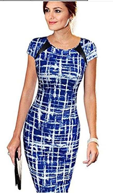 Image Unavailable. Image not available for. Color  Women Dress Daoroka Ladies  Sexy Short Sleeve ... e1f5cc76f024