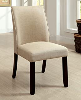 navy blue dining chairs mid century 247shopathome idf3556sc diningchairs ivory amazoncom homepop parsons classic upholstered accent dining chair