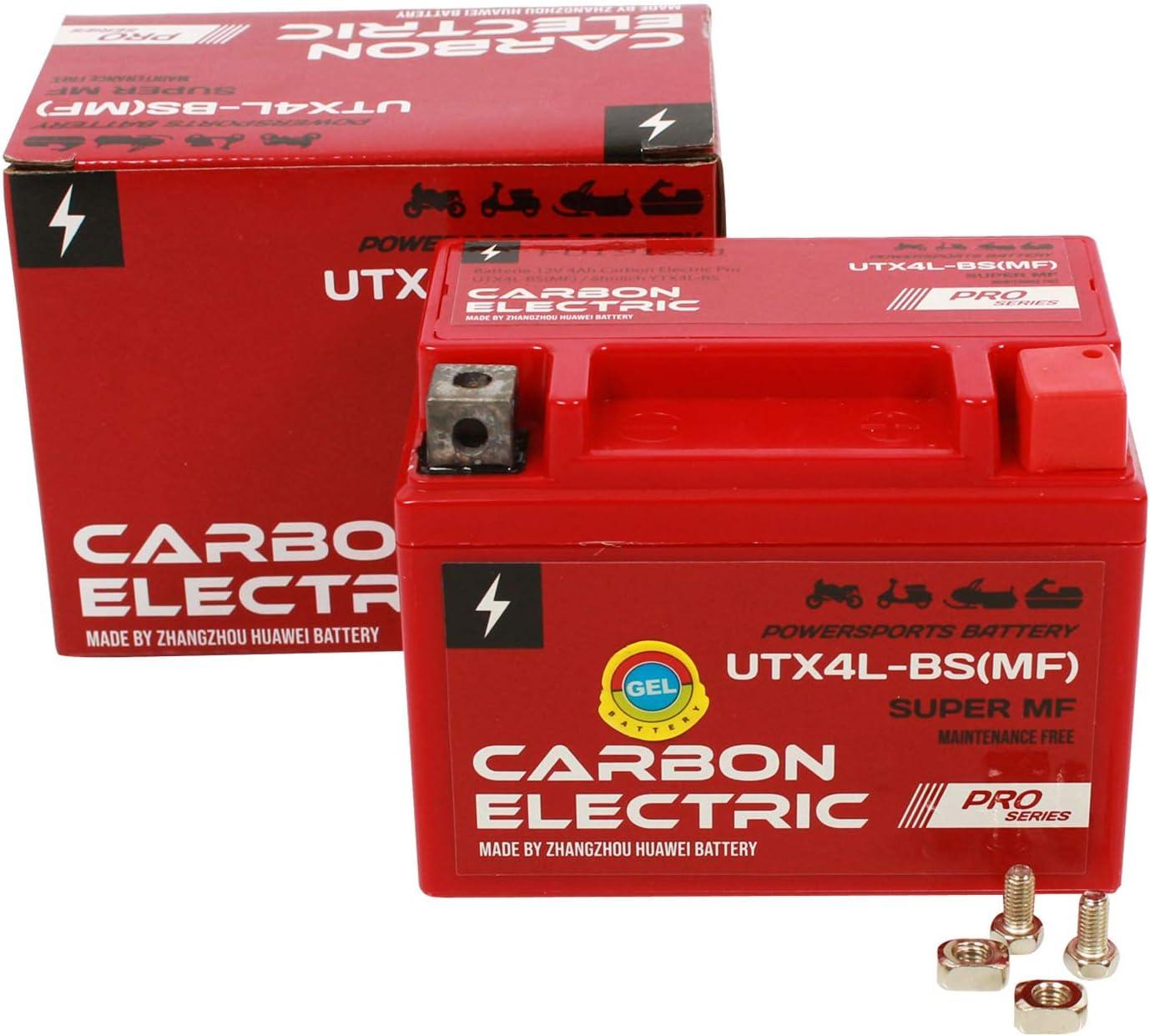 Gel Batterie Ytx4l Bs 12v 4ah Vorgeladen Versiegelt Wartungsfrei Vergleichbar Ytx5l Bs Yb4l B Auto
