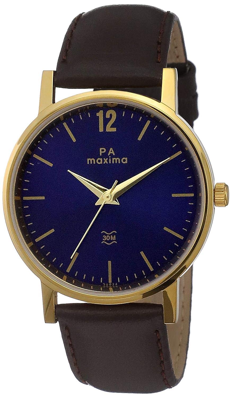 Maxima Analog Blue Dial Men's Watch-56024LMGY