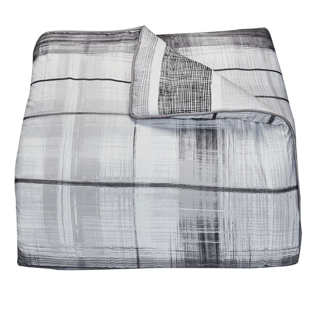Campus Linens Erin Andrews Collection Andrews Plaid Reversible Twin XL Comforter for College Dorm Bedding