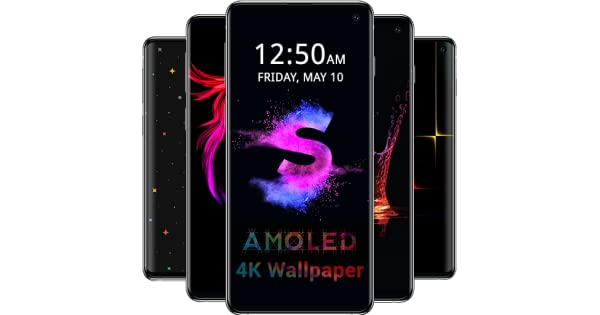 AMOLED Wallpapers 4K - Black & Dark Background: Amazon.es ...