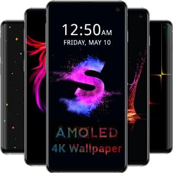 Amazoncom Amoled Wallpapers 4k Black Dark Background