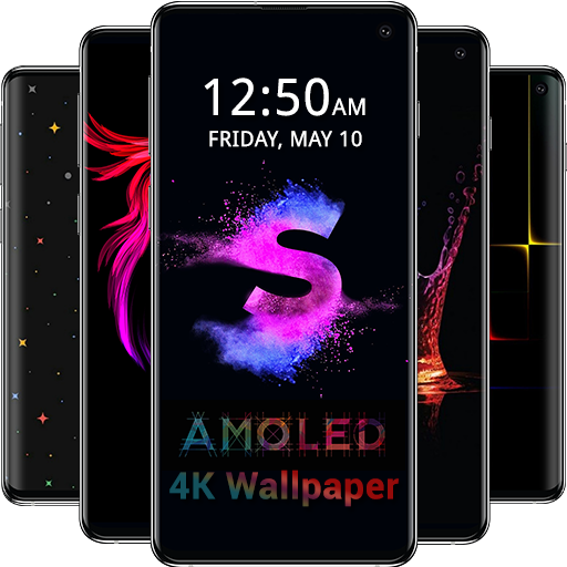 Amazoncom Amoled Wallpapers 4k Black Dark Background