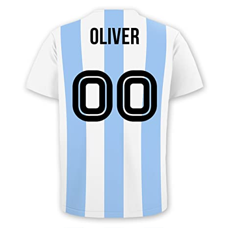best sneakers ecfea c5dc2 Amazon.com: Personalized Soccer Jersey Wall Decal (Argentina ...