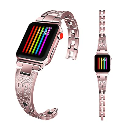Amazon.com: wishta 38 mm./137.8 foot suave reloj de pulsera ...