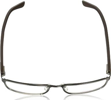Carrera 6656 Eyeglass Frames CA6656-09T6-Dark Ruthenium//Matte Black Frame Lens Diameter