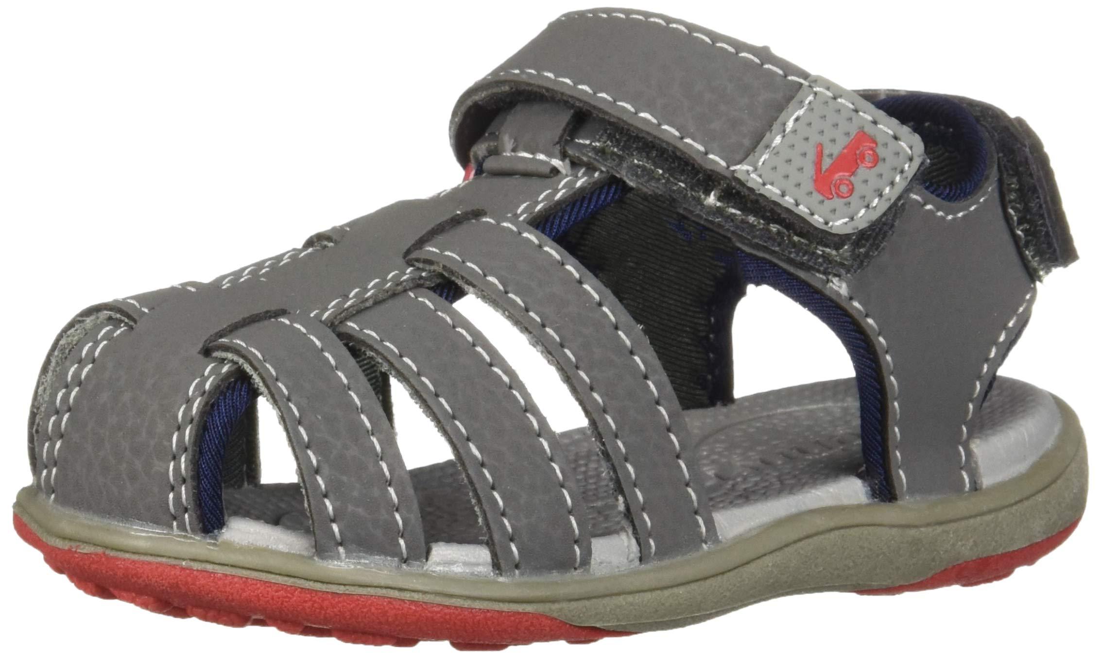 See Kai Run Boys' Cyrus III Sport Sandal, Gray 13 M US Little Kid