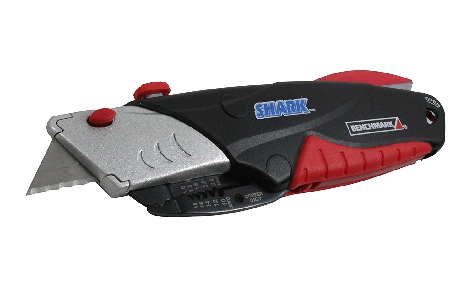 Amazon.com: Benchmark Shark Utility Knife and Wire Stripper (With ...