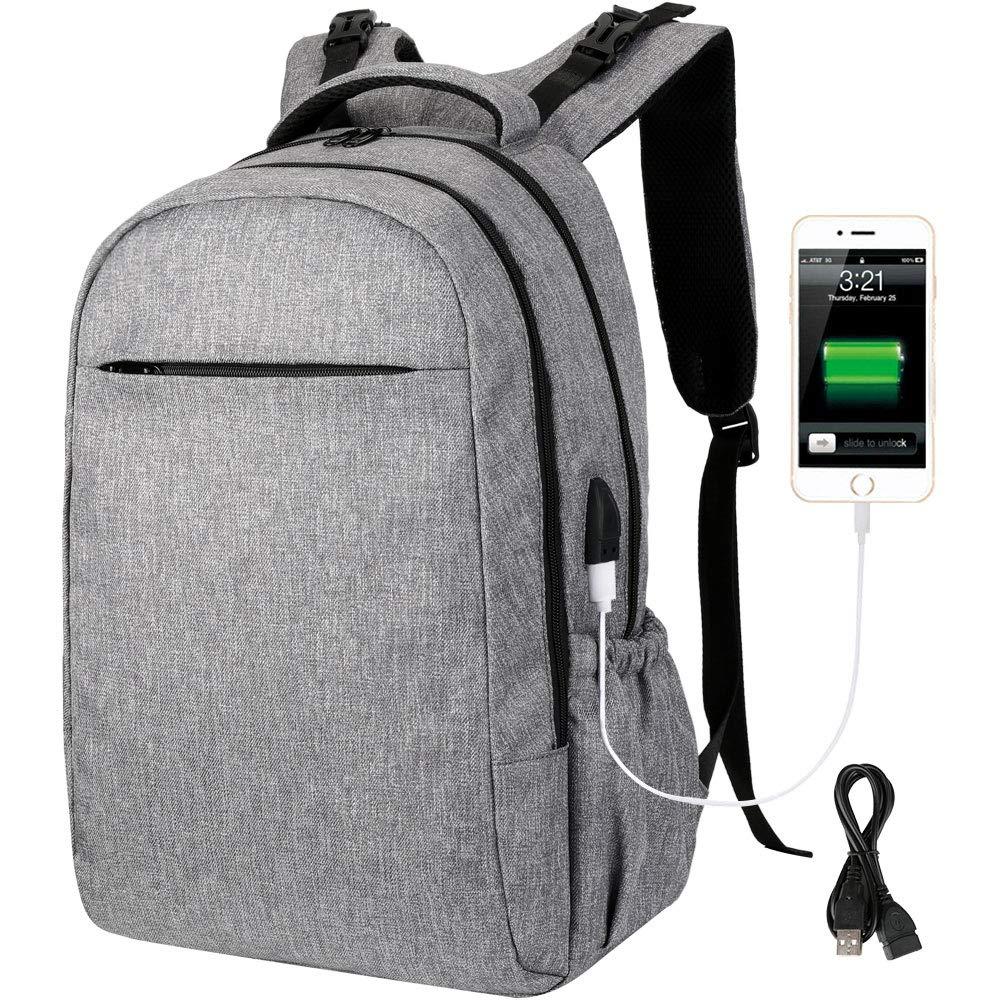 Vbiger Wickelrucksack Wickeltasche Multifunktional Babytasche Große Kapazität mit Laptopfach für 17 Zoll Laptop