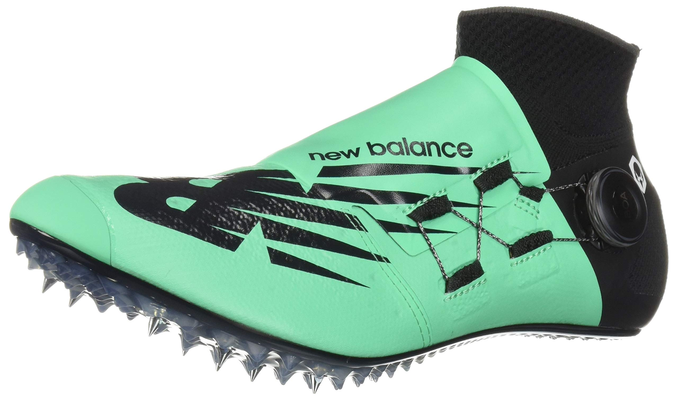 New Balance Men's Sigma Harmony Vazee Track Shoe neon Emerald/Black 4 D US