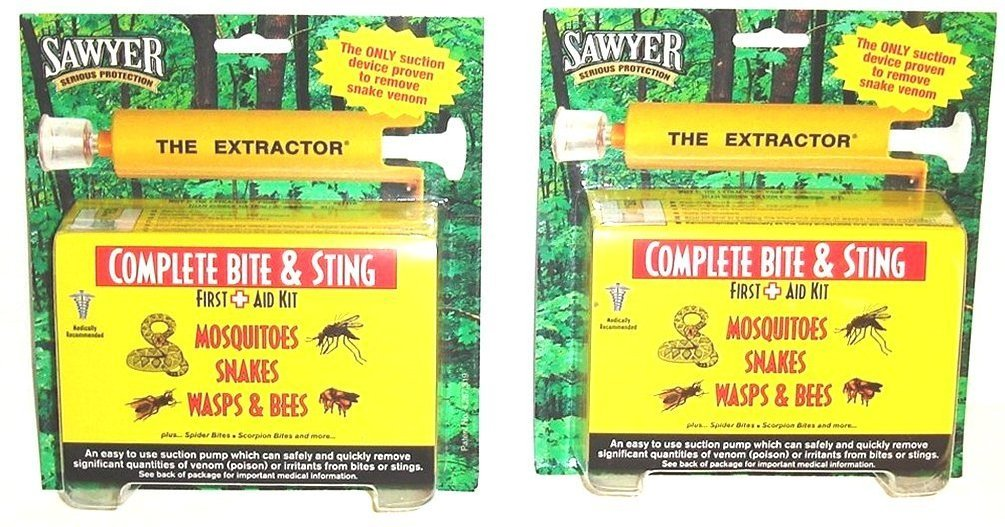 2 Sawyer Extractor Complete Bite & Sting by Sawyer, The Extractor