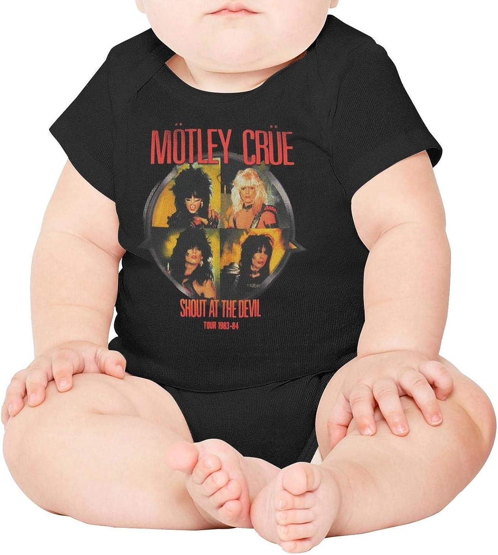 YAYAZANPl Unisex Baby Short Sleeve Onesies Music Fans Cotton Bodysuit Crew Neck 3-24 Months