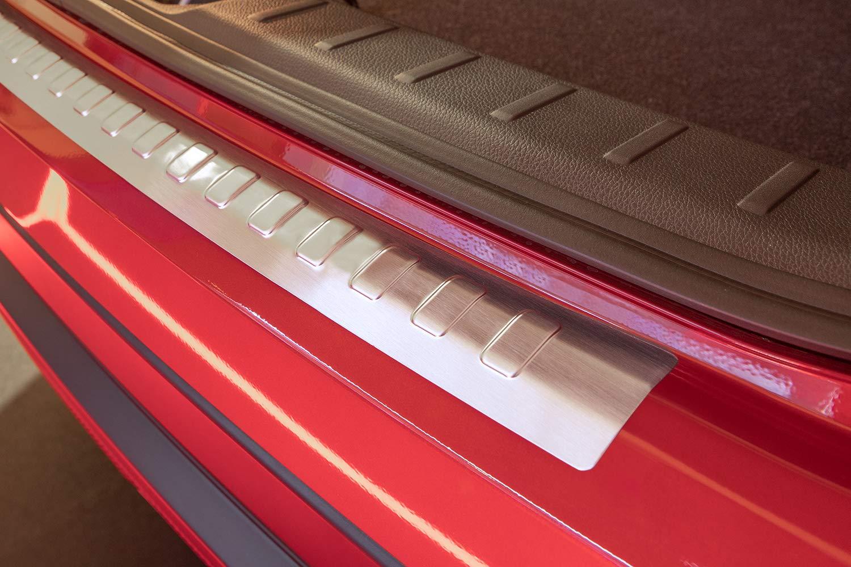 Tuning-Art L369 Acero Inoxidable protecci/ón de Parachoques con Bordes Redondeados y Perfil 3D Color Acero Inoxidable:Antracita Brillante