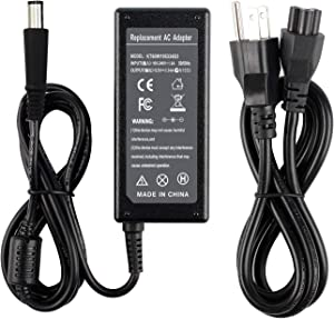 FLYTEN 65W AC Adapter Charger for Dell Latitude E5440 E5530 E5540 E6230 E6330 E6410 E6420 E6440 E6540 E7240 E7250 E7450 Series,Inspiron M5030 N5040 N5050 Series,Fit P/N LA65NS2-01 DA65NM111-00