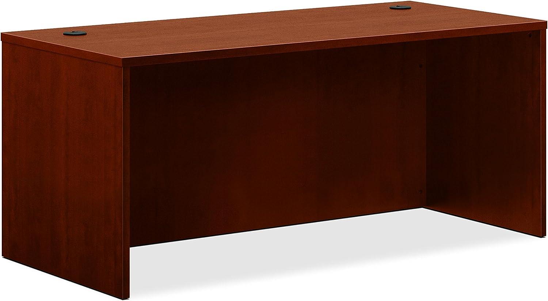 HON BL Laminate Series Office Desk Shell - Rectangular Desk Shell, 66w x 30d x 29h, Medium Cherry (HBL2102)
