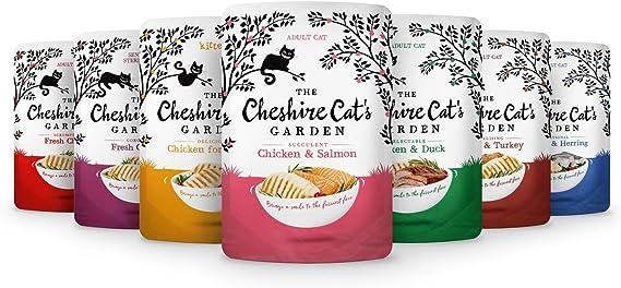 The Cheshire Cat Garden Range - Juego de 6 bolsas para gatos (6 ...