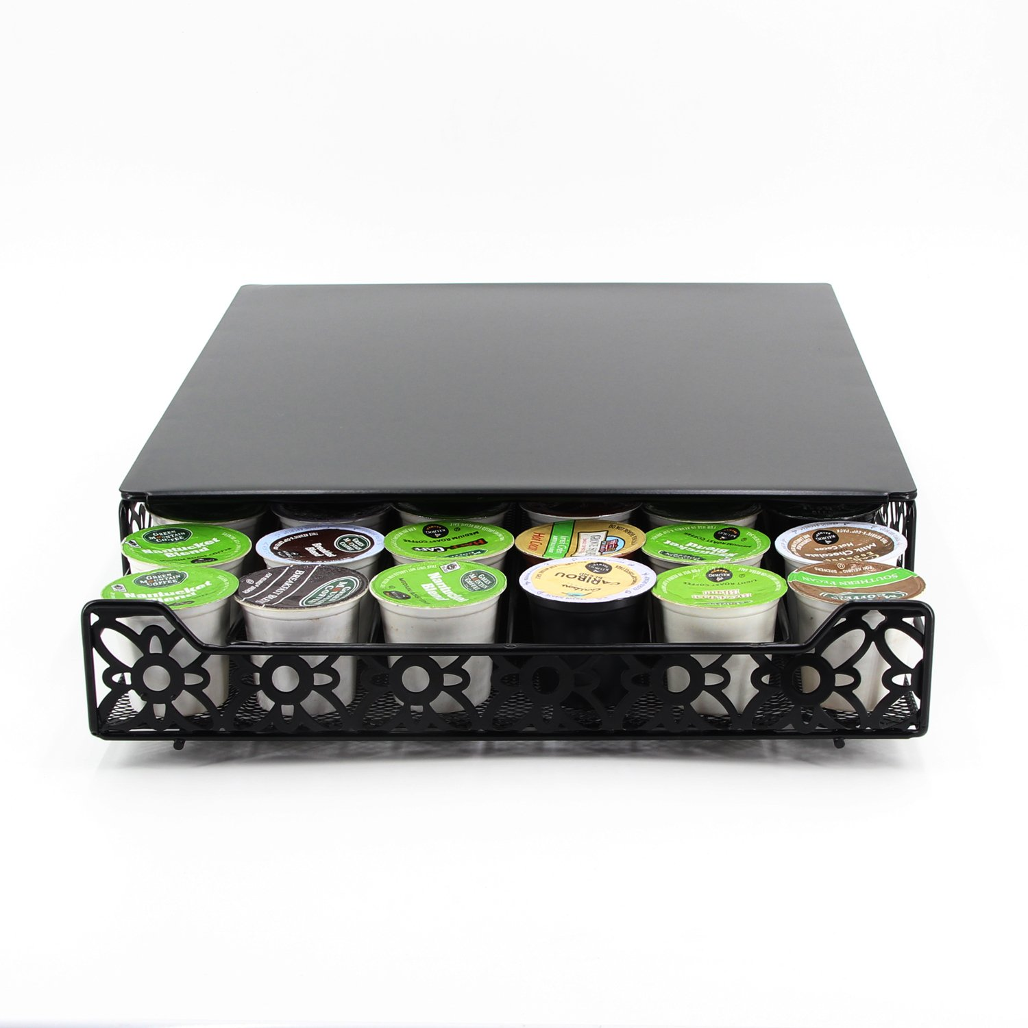 Flagship Coffee Pod Holder Capacity Capsule Display Storage Drawer for K-cup (42 Pods Lace)