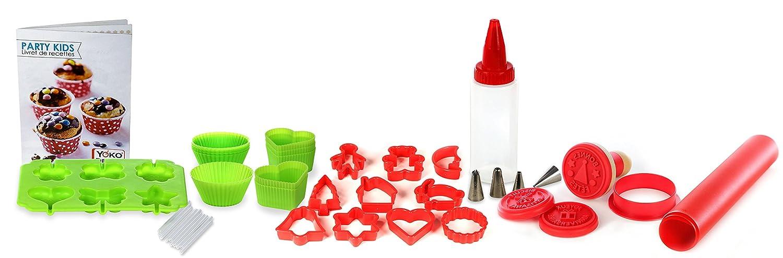 Yoko Design 1301 Party Kids estuche cocina silicona/PVS ...