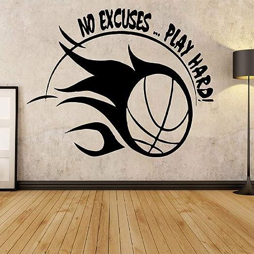 supmsds Baloncesto Deportes Calcomanía Citas de motivación ...