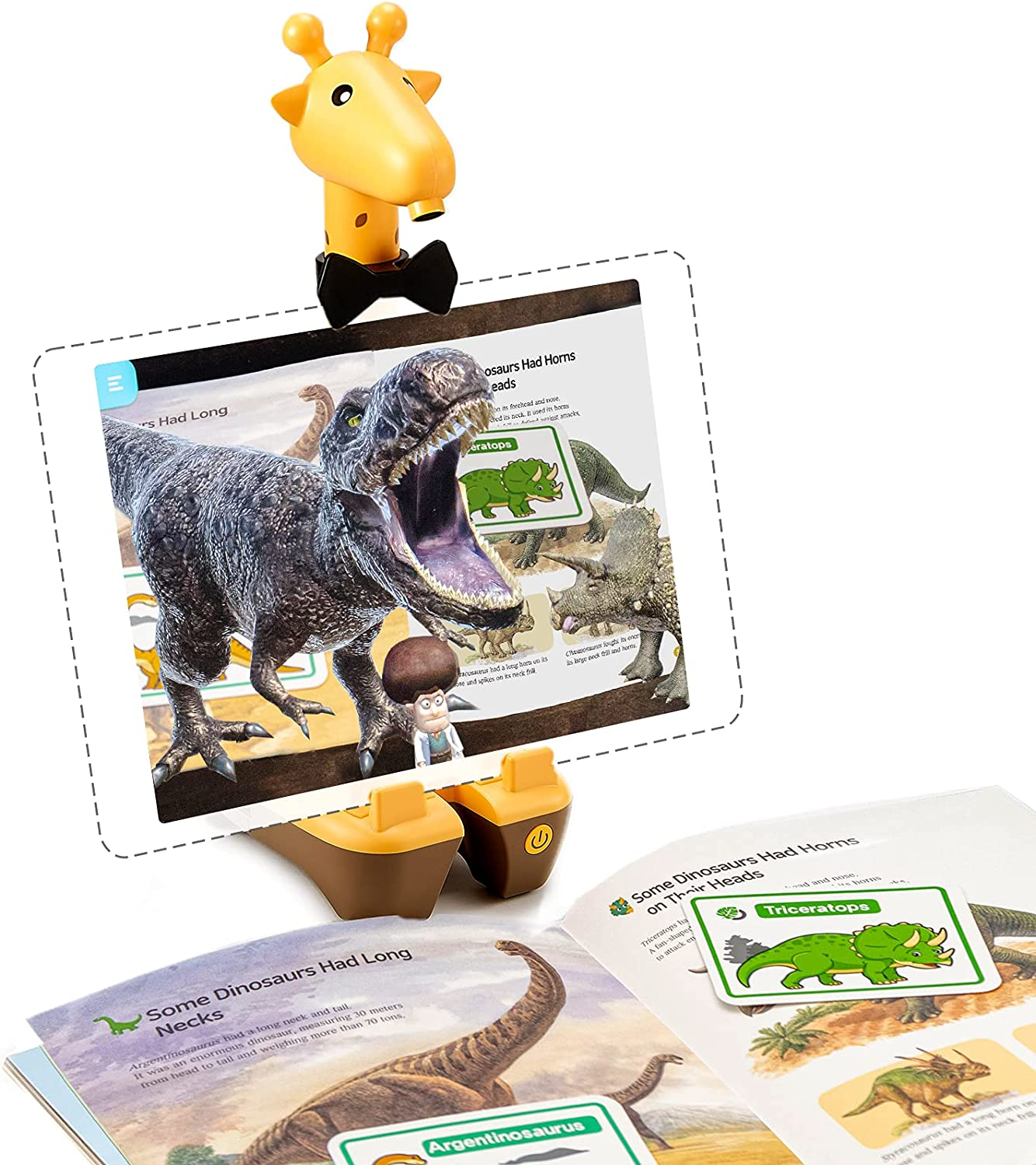 ARPEDIA – STEM Learning Toy Game – 3D Digital Contents with 10 Paper Books – Fun Interactive Hands-on Learning Activities with AR Technology - Educational Gift for Girls and Boys