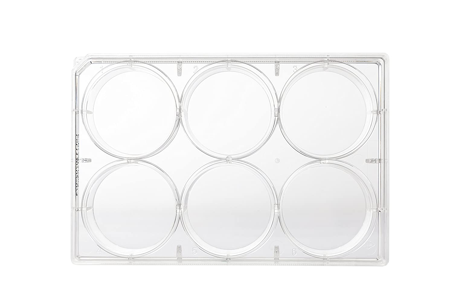 Neolab C 8110 Multi Test Plates 6 Well Flat, 34.7 mm Dia x 9.15 m² 16 ml (Pack of 100) 34.7 mm Dia x 9.15 m² 16 ml (Pack of 100) C-8110