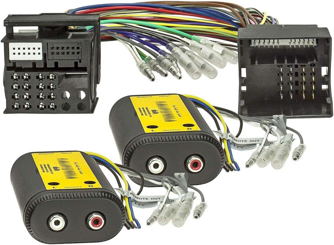 Tomzz Audio 5800 143 High Low Converter 4 Kanal Elektronik