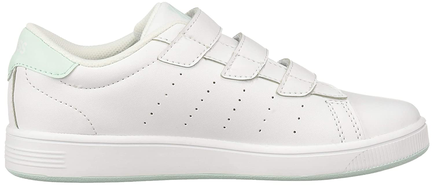 K-Swiss Kids Clean Court 3-Strap Sneaker