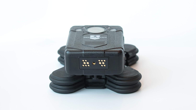 PatrolEyes DV10 Wifi Klick rápido cámara de cuerpo de policía de liberación rápida montaje de imán