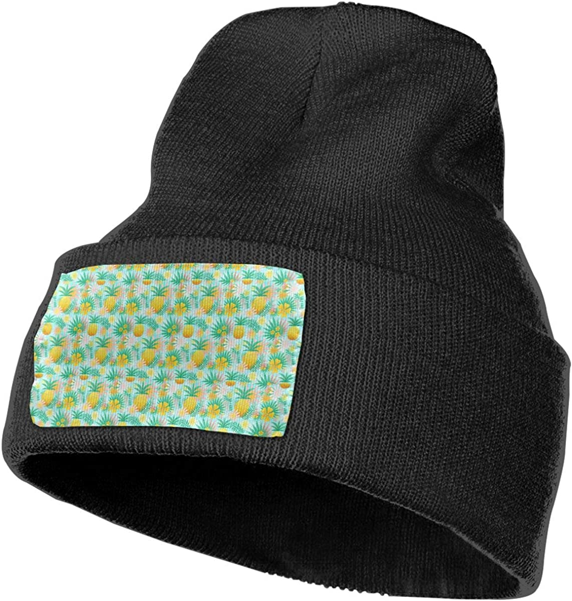 TAOMAP89 Seamless Pine Men /& Women Skull Caps Winter Warm Stretchy Knitting Beanie Hats