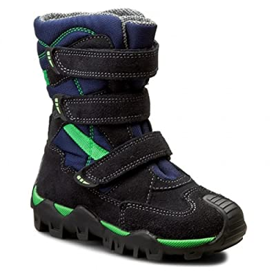 Bartek Boys Waterproof Snow Boots for Winter 94646/04P Green Ocean (Little Kids/Big Kids)