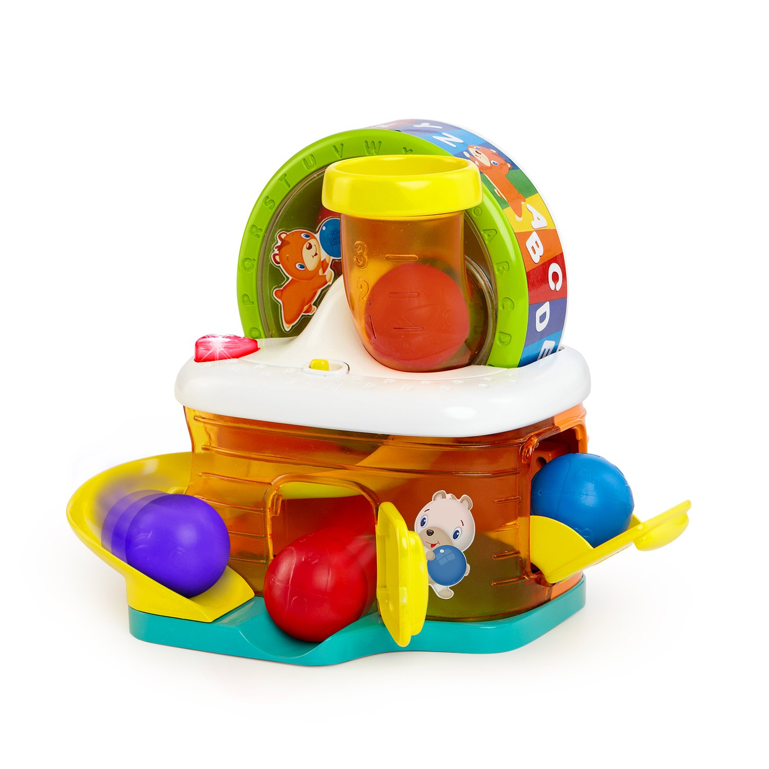 Amazon Bright Starts Baby Toy ABC Hamster House Push And
