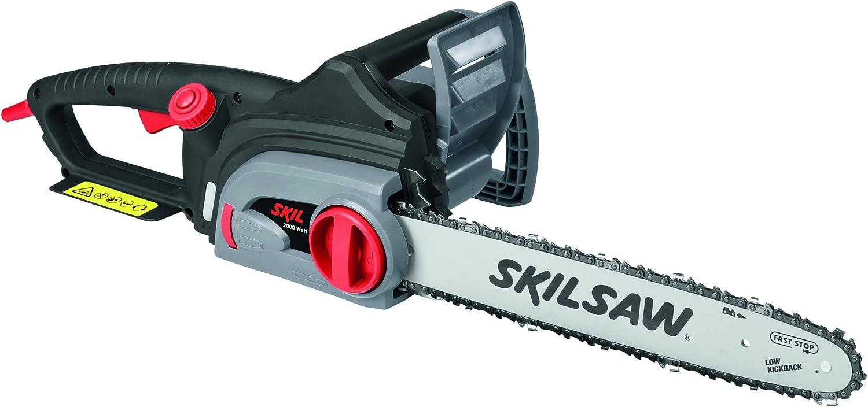 Skil F0150780AA Sierra de cadena, 2000 W, 240 V, Gris metalizado
