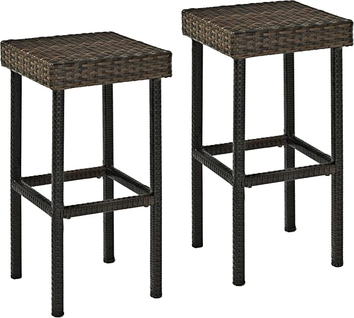 Top 10 Resin Wicker Patio Furniture Bar Stools